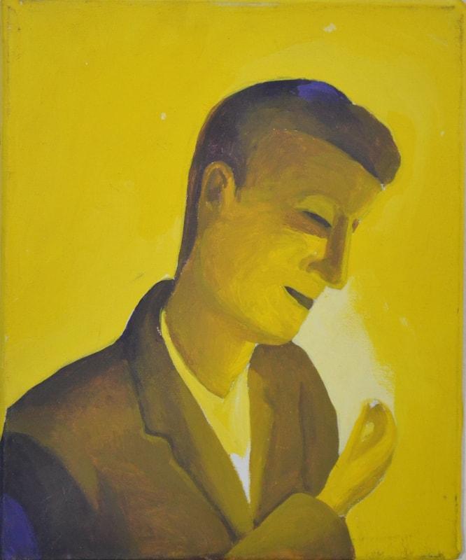 Mangiava le lucciole, 1994, olio su tela, 20 x 25 cm